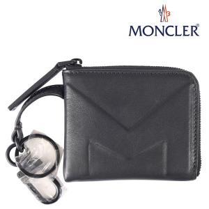 MONCLER モンクレール 財布 COIN PURSE メンズ ブラック 黒 レザー 並行輸入品 utsubostock
