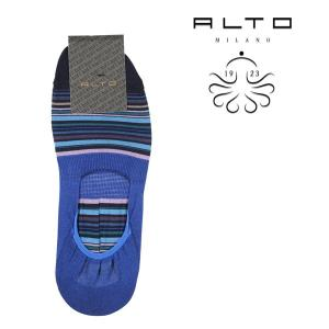 ALTO MILANO(アルトミラノ) ソックス PEAM1264US ブルー x マルチカラー ONESIZE 21736bl 【S21736】|utsubostock
