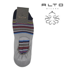 ALTO MILANO(アルトミラノ) ソックス PEAM1264US グレー x マルチカラー ONESIZE 21736gy 【S21738】|utsubostock