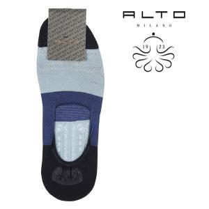 ALTO MILANO(アルトミラノ) ソックス PEAM1552US ブルー ONESIZE 21747bl 【S21747】|utsubostock