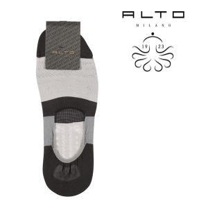 ALTO MILANO(アルトミラノ) ソックス PEAM1552US グレー ONESIZE 21747gy 【S21748】|utsubostock