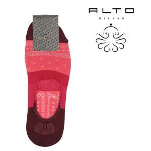 ALTO MILANO(アルトミラノ) ソックス PEAM1552US レッド ONESIZE 21747rd 【S21749】|utsubostock
