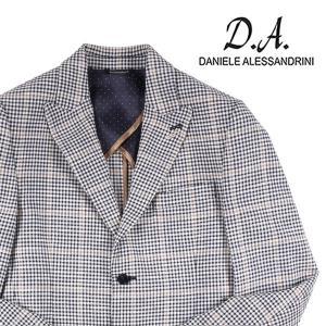 Daniele Alessandrini(ダニエレアレッサンドリーニ) ジャケット G2735 ホワイト x ネイビー 46 21768 【S21768】|utsubostock