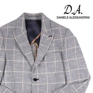 【48】 Daniele Alessandrini ダニエレアレッサンドリーニ ジャケット メンズ 春夏 チェック ホワイト 白 並行輸入品 アウター トップス utsubostock