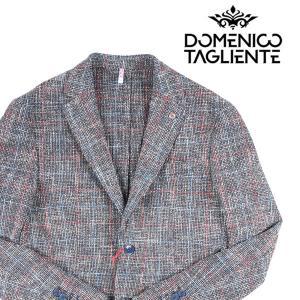 【48】 Domenico Tagliente ドメニコ・タリエンテ ジャケット メンズ 春夏 チェック ネイビー 紺 並行輸入品 アウター トップス|utsubostock