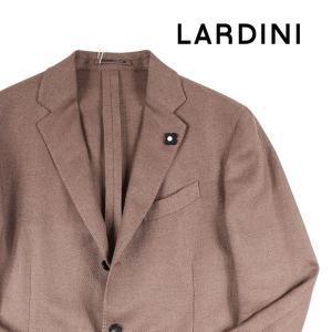 【54】 LARDINI ラルディーニ ジャケット メンズ 春夏 リネン混 ブラウン 茶 並行輸入品 アウター トップス 大きいサイズ|utsubostock