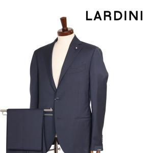 【48】 LARDINI ラルディーニ スーツ メンズ 春夏 ネイビー 紺 並行輸入品|utsubostock