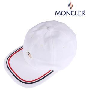 MONCLER モンクレール キャップ E10910098155 メンズ ホワイト 白 並行輸入品|utsubostock