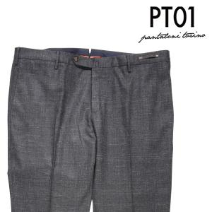 【58】 PT01 ピーティー ゼロウーノ ウールパンツ CM03 メンズ 秋冬 グレー 灰色 並行輸入品 ズボン 大きいサイズ|utsubostock