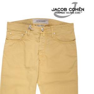 JACOB COHEN(ヤコブコーエン) コットンパンツ J688COMF イエロー 33 21966 【S21967】|utsubostock