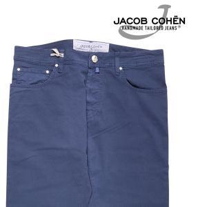 【32】 JACOB COHEN ヤコブコーエン コットンパンツ J688COMF メンズ 春夏 ネイビー 紺 並行輸入品 ズボン|utsubostock