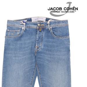 【32】 JACOB COHEN ヤコブコーエン ジーンズ J688COMF メンズ ブルー 青 並行輸入品 デニム utsubostock