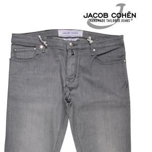 【35】 JACOB COHEN ヤコブコーエン ジーンズ J696 メンズ グレー 灰色 並行輸入品 デニム 大きいサイズ|utsubostock