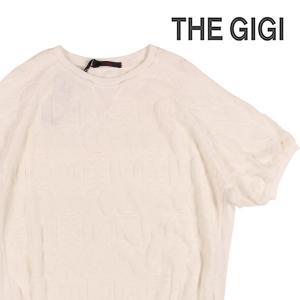 【M】 THE GIGI ザ ジジ 丸首セーター KOS メンズ ホワイト 白 並行輸入品 ニット|utsubostock