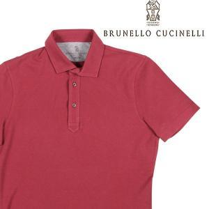 【S】 BRUNELLO CUCINELLI ブルネロクチネリ 半袖ポロシャツ M0T633936 メンズ 春夏 レッド 赤 並行輸入品 トップス|utsubostock