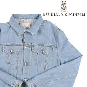 【48】 BRUNELLO CUCINELLI ブルネロクチネリ ジージャン M0Z376844 メンズ ブルー 青 並行輸入品 アウター トップス|utsubostock