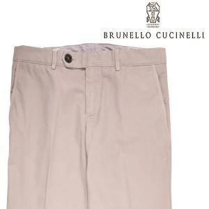 【44】 BRUNELLO CUCINELLI ブルネロクチネリ コットンパンツ M079DF1050 メンズ ベージュ 並行輸入品 ズボン|utsubostock