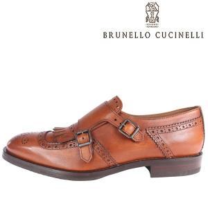 【42】 BRUNELLO CUCINELLI ブルネロクチネリ 革靴 MZUPIC935 メンズ レザー ブラウン 茶 レザー 並行輸入品|utsubostock
