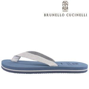 【41】 BRUNELLO CUCINELLI ブルネロクチネリ サンダル MZUFLIR066 メンズ 春夏 ネイビー 紺 並行輸入品 utsubostock