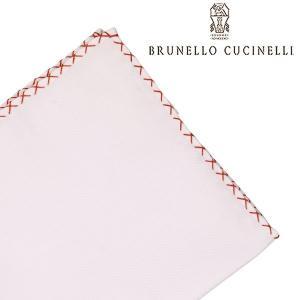 BRUNELLO CUCINELLI ブルネロクチネリ ポケットチーフ MD8030091 メンズ ホワイト 白 並行輸入品|utsubostock
