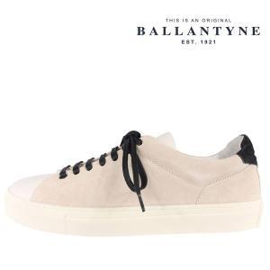 BALLANTYNE(バランタイン) スニーカー LME000 ULESC アイボリー 41 22400 【A22400】|utsubostock
