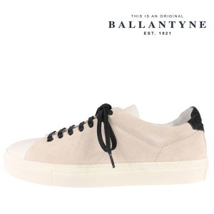 BALLANTYNE(バランタイン) スニーカー LME000 ULESC アイボリー 43 22400 【A22402】|utsubostock