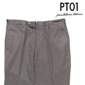 PT01(ピーティー ゼロウーノ) ウールパンツ DSTUZ00NTU グレー 52 22544 【W22545】 utsubostock