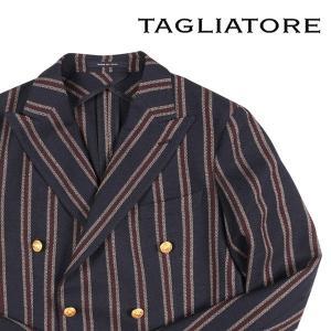 【50】 TAGLIATORE タリアトーレ ジャケット 1SMC20K メンズ ストライプ ネイビー 紺 並行輸入品 アウター トップス utsubostock