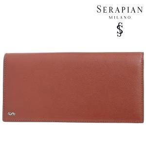 SERAPIAN セラピアン 財布 メンズ レザー ブラウン 茶 レザー 並行輸入品|utsubostock