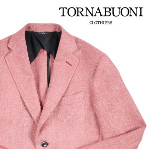 TORNABUONI(トルナブォーニ) ジャケット 24215 ピンク 48 22741 【A22743】|utsubostock
