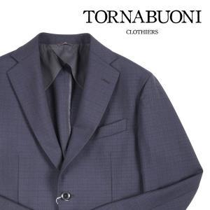 【50】 TORNABUONI トルナブォーニ ジャケット メンズ 春夏 チェック ネイビー 紺 並行輸入品 アウター トップス utsubostock