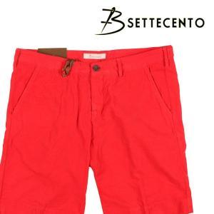B SETTECENTO(ビーセッテチェント) ハーフパンツ B801-7006 レッド 32 22848rd 【S22849】|utsubostock