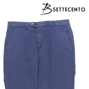 【34】 B SETTECENTO ビーセッテチェント パンツ メンズ 春夏 ネイビー 紺 並行輸入品 ズボン 大きいサイズ utsubostock