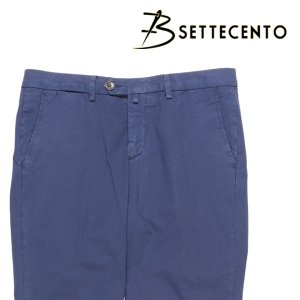 【36】 B SETTECENTO ビーセッテチェント パンツ メンズ 春夏 ネイビー 紺 並行輸入品 ズボン 大きいサイズ utsubostock