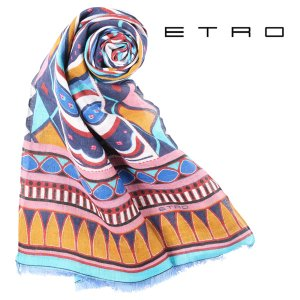 ETRO(エトロ) ストール 5037 マルチカラー 【S23013】 utsubostock