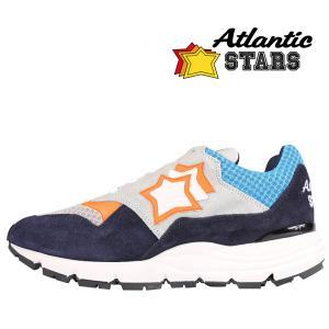 Atlantic Stars(アトランティックスターズ) スニーカー POLARIS WBG-F07 グレースカイブルー 40 23103 【A23103】 utsubostock
