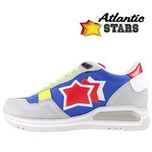 Atlantic Stars(アトランティックスターズ) スニーカー PEGASUS BAR-J19 ブルーグレー 40 23133 【A23133】|utsubostock