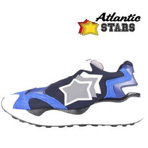 【41】 Atlantic Stars アトランティックスターズ スニーカー CENTAURUS ABN-KH6 メンズ 星柄 ブラック 黒 レザー 並行輸入品 utsubostock