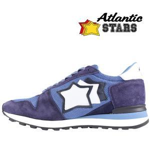 Atlantic Stars(アトランティックスターズ) スニーカー ARGO TB-NY ブルーネイビー 41 【A23158】|utsubostock