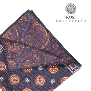 ROSI COLLECTION(ロージコレクション) ポケットチーフ EASY ネイビー ONESIZE 23346nv 【W23347】 utsubostock