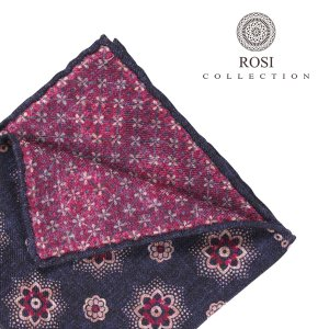 ROSI COLLECTION(ロージコレクション) ポケットチーフ WILL ネイビー ONESIZE 【W23350】 utsubostock