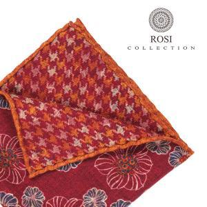 ROSI COLLECTION(ロージコレクション) ポケットチーフ WILL ワインレッド ONESIZE 23352wn 【W23353】 utsubostock