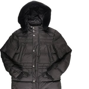 AQUARAMA(アクアラマ) ダウンジャケット 81245P ブラック 46 23354bk 【W23359】|utsubostock