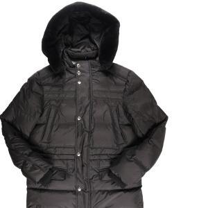 AQUARAMA(アクアラマ) ダウンジャケット 81245P ブラック 48 23354bk 【W23360】|utsubostock