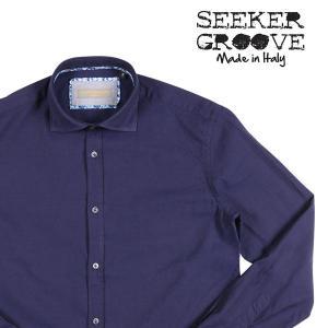 SEEKER GROOVE(シーカーグルーブ) 長袖シャツ 440/B ネイビー S 23401nv 【A23416】 utsubostock