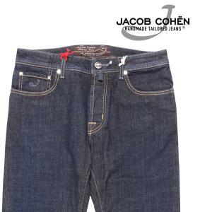 JACOB COHEN(ヤコブコーエン) ジーンズ J688 ネイビー 35 23423 【A23426】|utsubostock