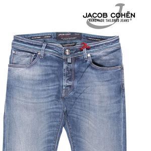 JACOB COHEN(ヤコブコーエン) ジーンズ J622 ブルー 32 23427 【A23427】|utsubostock