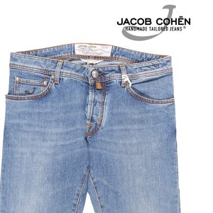 JACOB COHEN(ヤコブコーエン) ジーンズ PW622 ブルー 33 【A23435】|utsubostock