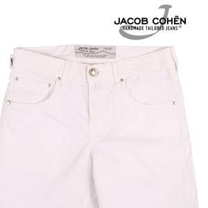 JACOB COHEN(ヤコブコーエン) ハーフパンツ PW6636 ホワイト 30 【S23461】|utsubostock
