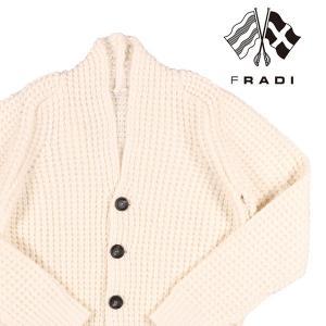 【XL】 FRADI フラディ カーディガン メンズ 秋冬 ホワイト 白 並行輸入品 ニット 大きいサイズ utsubostock
